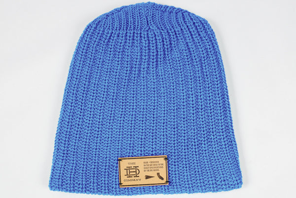 Royal Blue Slouch Beanie