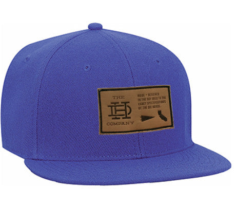 Blue Patch Snapback