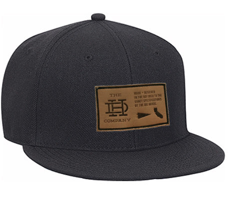 Dark Heather Gray Patch Snapback