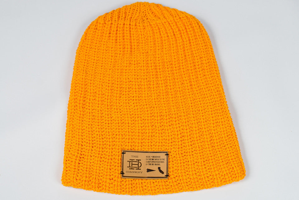 Yellow Beanie Slouch