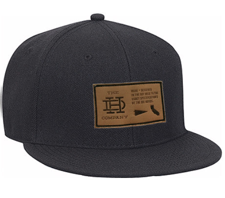 Dark Gray Patch Snapback
