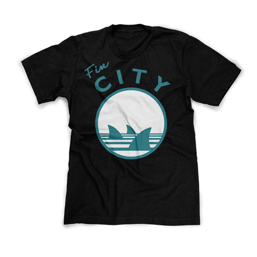 fin city shirt black
