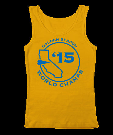 Golden Season Champs Womens Tank