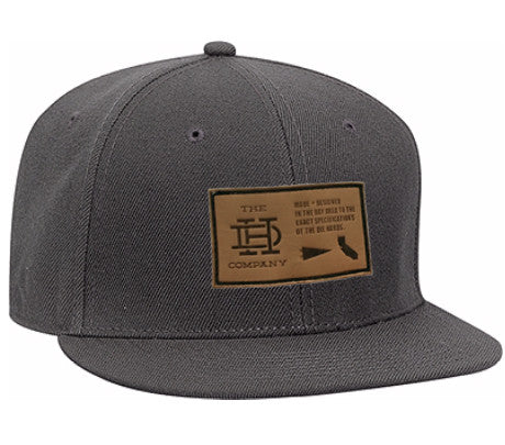 Gray Patch Snapback