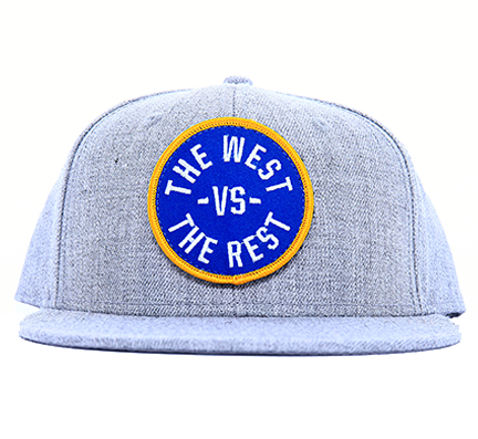 WEST vs THE REST Velcro Hat - Blue & Gold