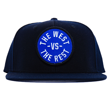 WEST vs THE REST Velcro Hat - Blue & White