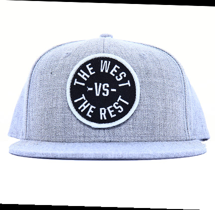 WEST vs THE REST Velcro Hat - Black & White