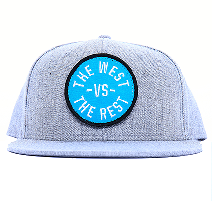 WEST vs THE REST Velcro Hat - Teal & Black