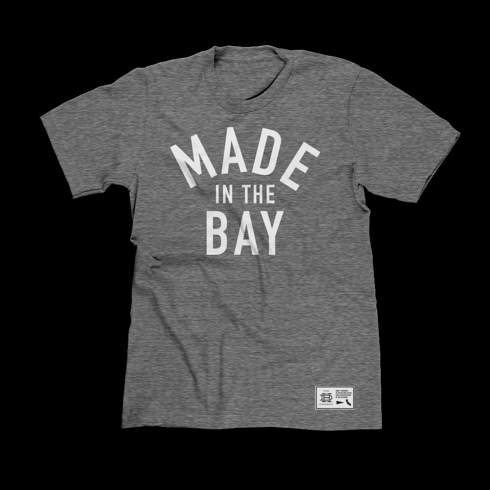 Made In The Bay Heather Gray Shirt