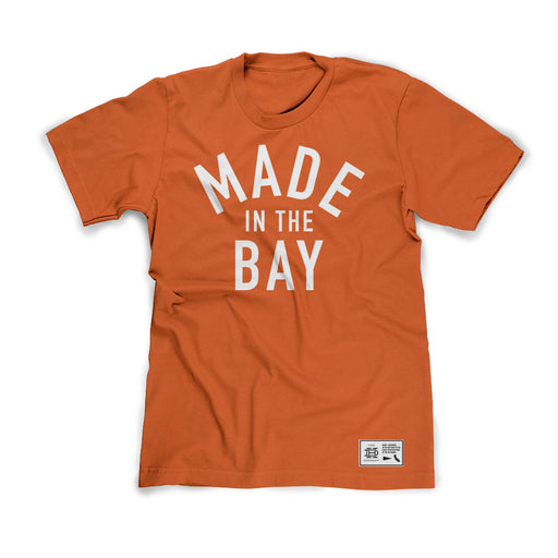 Made In The Bay Orange Shirt