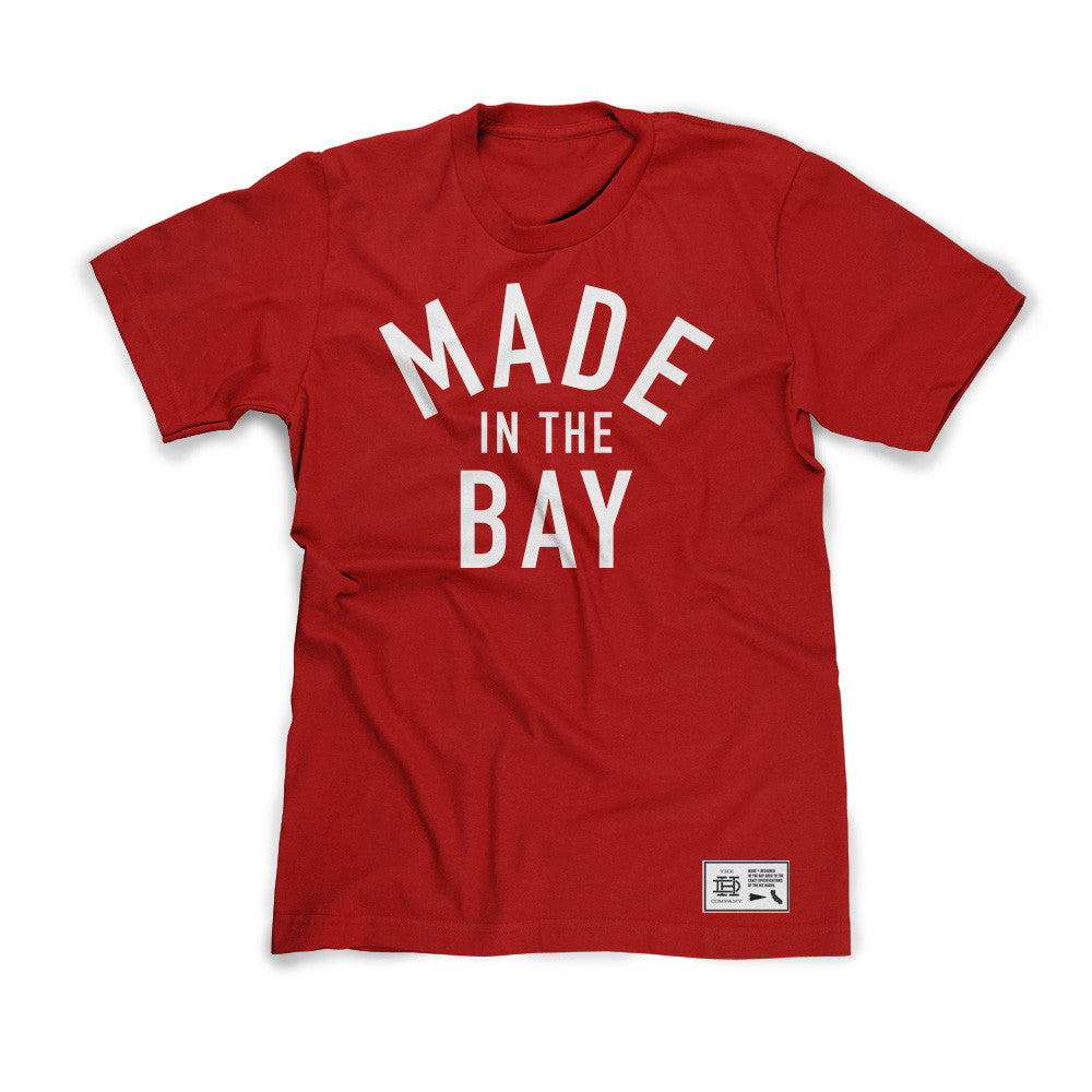 Made In The Bay Red Shirt