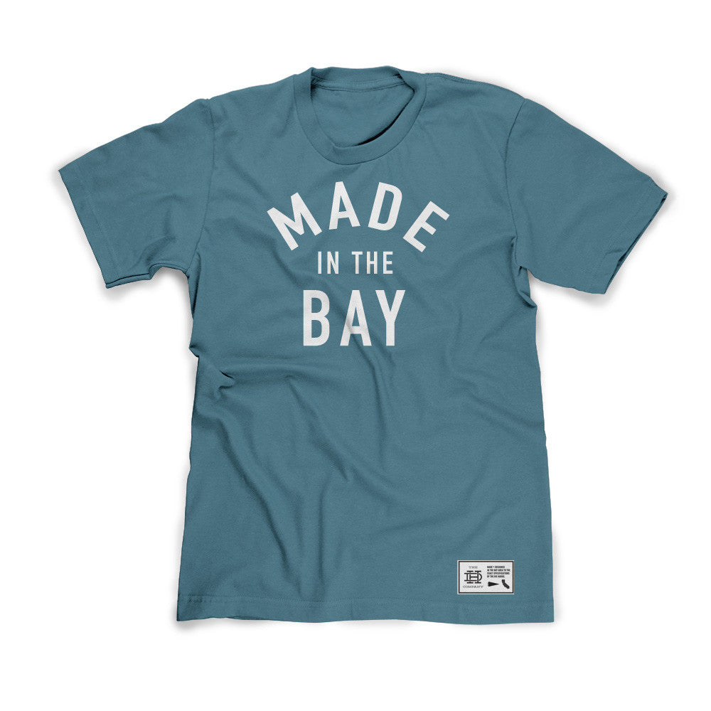 Made In The Bay Teal Shirt
