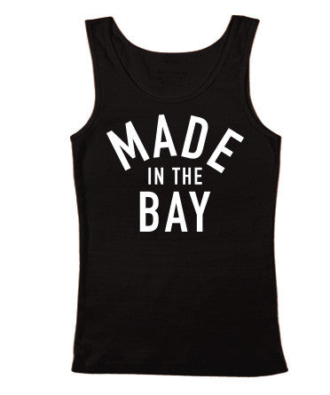 Made In The Bay Womens Black Tank