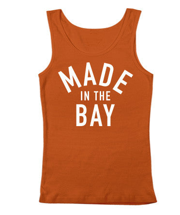 Made In The Bay - Orange Tank
