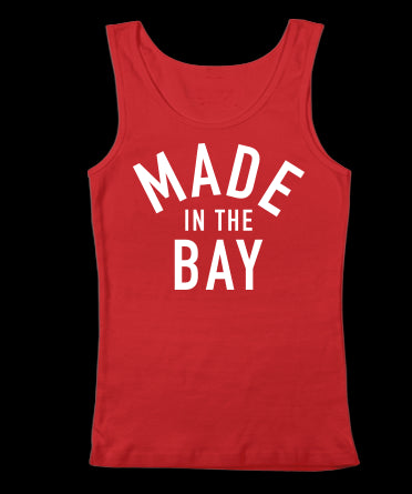 Made In The Bay - Red Tank