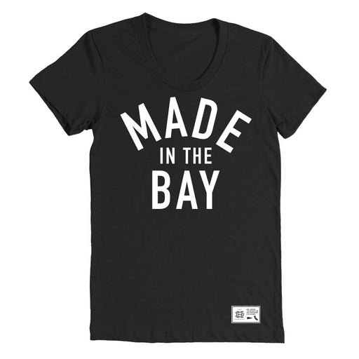 Made In The Bay Womens Black Shirt