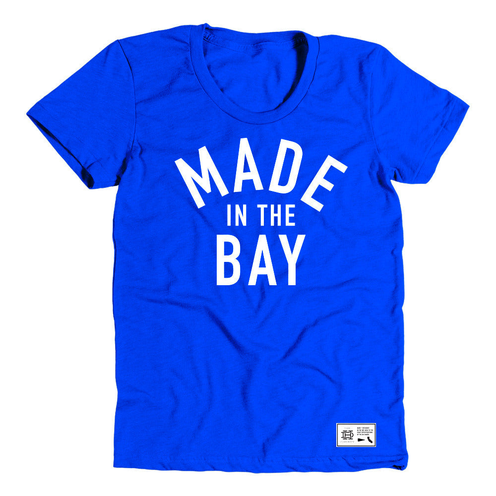 Made In The Bay Womens Royal Shirt