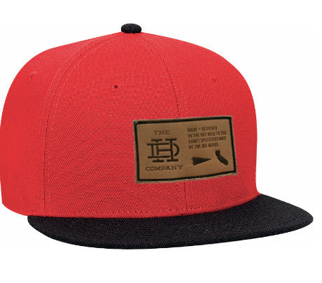 Red & Black Patch Snapback