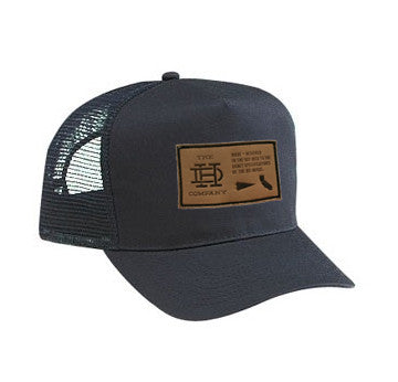 Black Patch Trucker