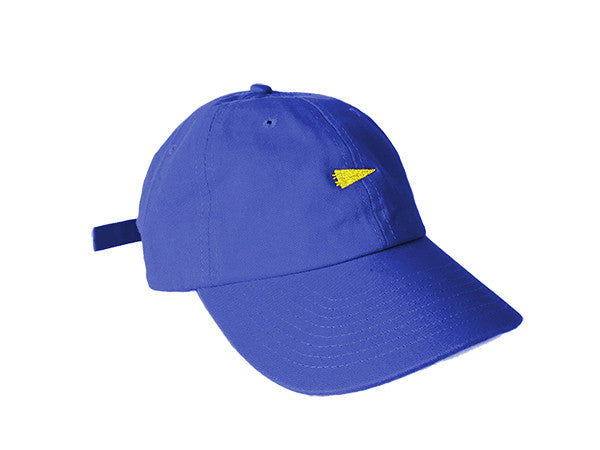warriors fans pennant dad hat