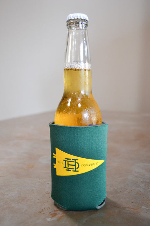 Green & Gold Koozie