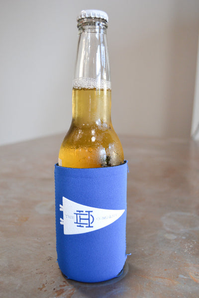 Royal & White Koozie