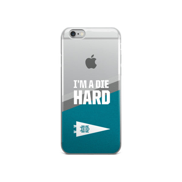 I'M A DIE HARD iPhone Case - TEAL