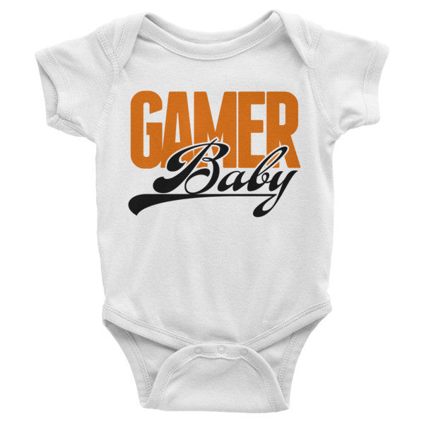 Gamer Baby - White Onesie