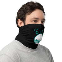 Fin City OG Black - Neck Gaiter