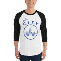 Quake City - 3/4 sleeve raglan shirt