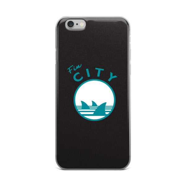 FIN CITY iPhone Case