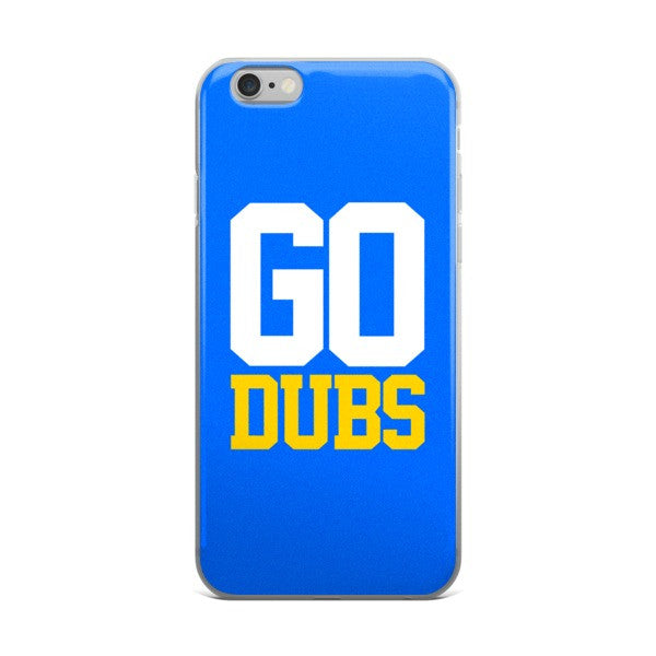 Go Dubs iPhone Case