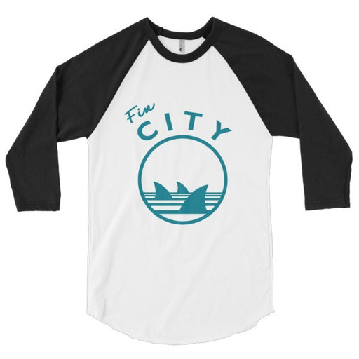 fin city raglan shirt