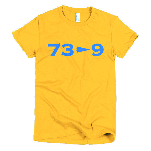 73 - 9  Gold Womens Shirt