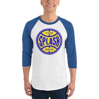 Splash Bros - 3/4 sleeve raglan shirt