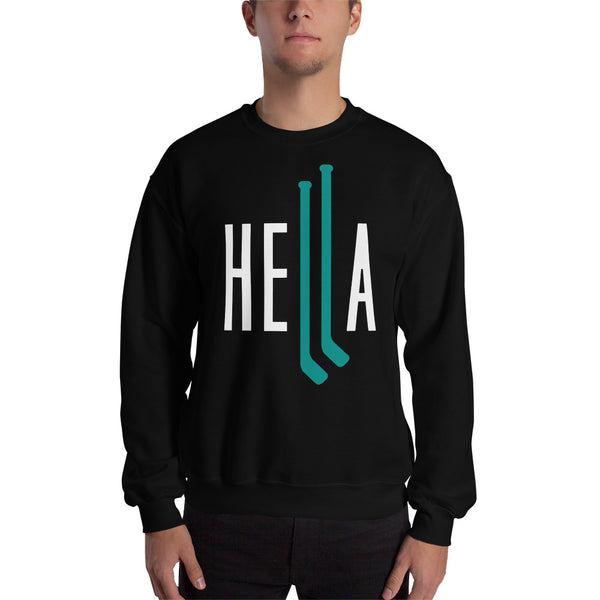 HELLA HOCKEY CREWNECK