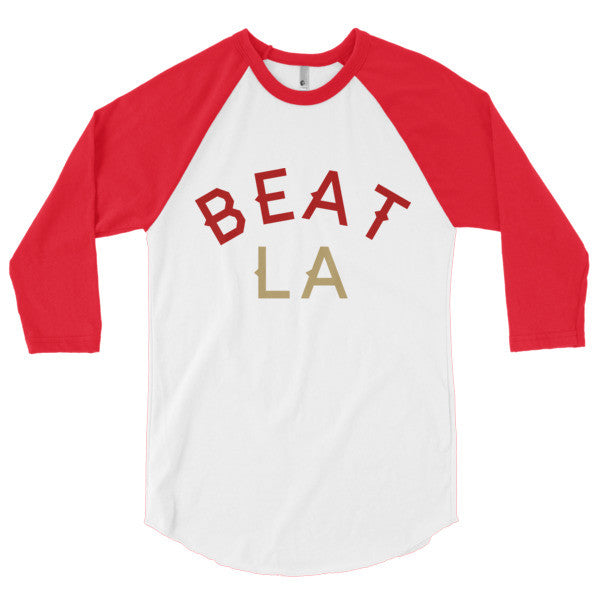 BEAT LA - 3/4 sleeve raglan shirt