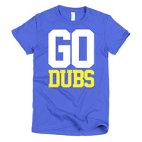 Go Dubs Womens Shirt