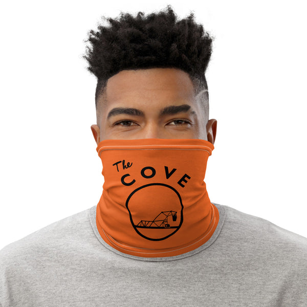 The Cove Orange Neck Gaiter