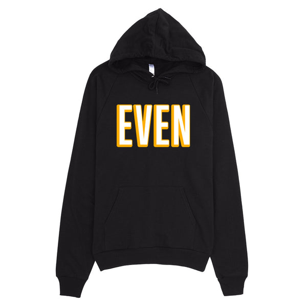 Even Year Black Hoodie