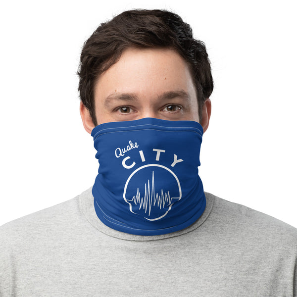 Quake City - Blue Neck Gaiter