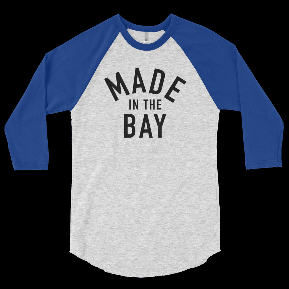 Made in the Bay - 3/4 sleeve raglan shirt