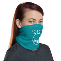 Fin City - Teal Neck Gaiter