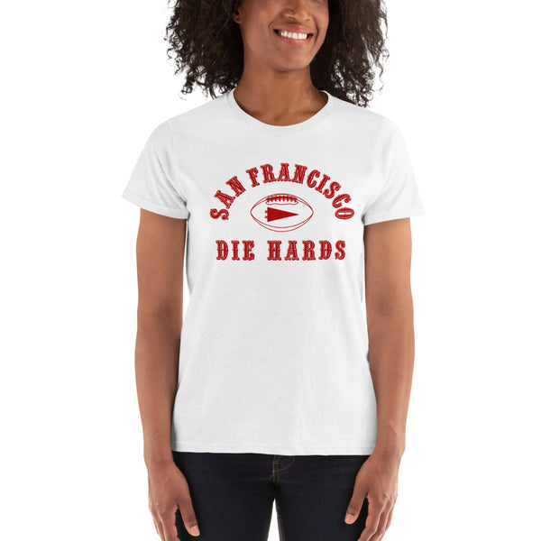 SF DIEHARDS - Womens White Shirt