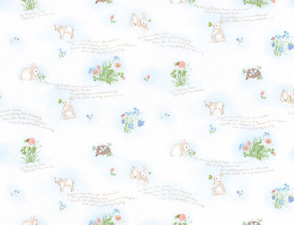 Bunny Rabbit Wallpaper HK60043