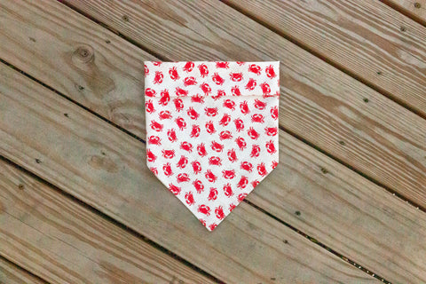 Red Crabs Bandana