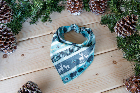Woodland Winter Bandana
