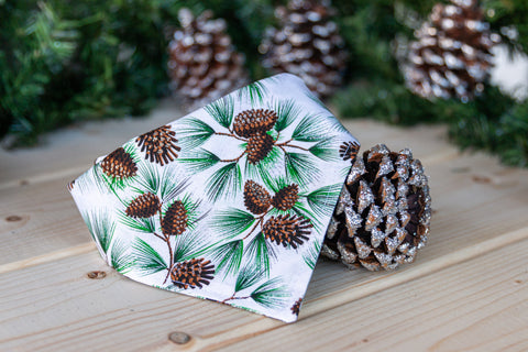 Snow Dusted Pine Bandana