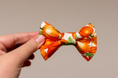 Too Many Pumpkins Bow Tie