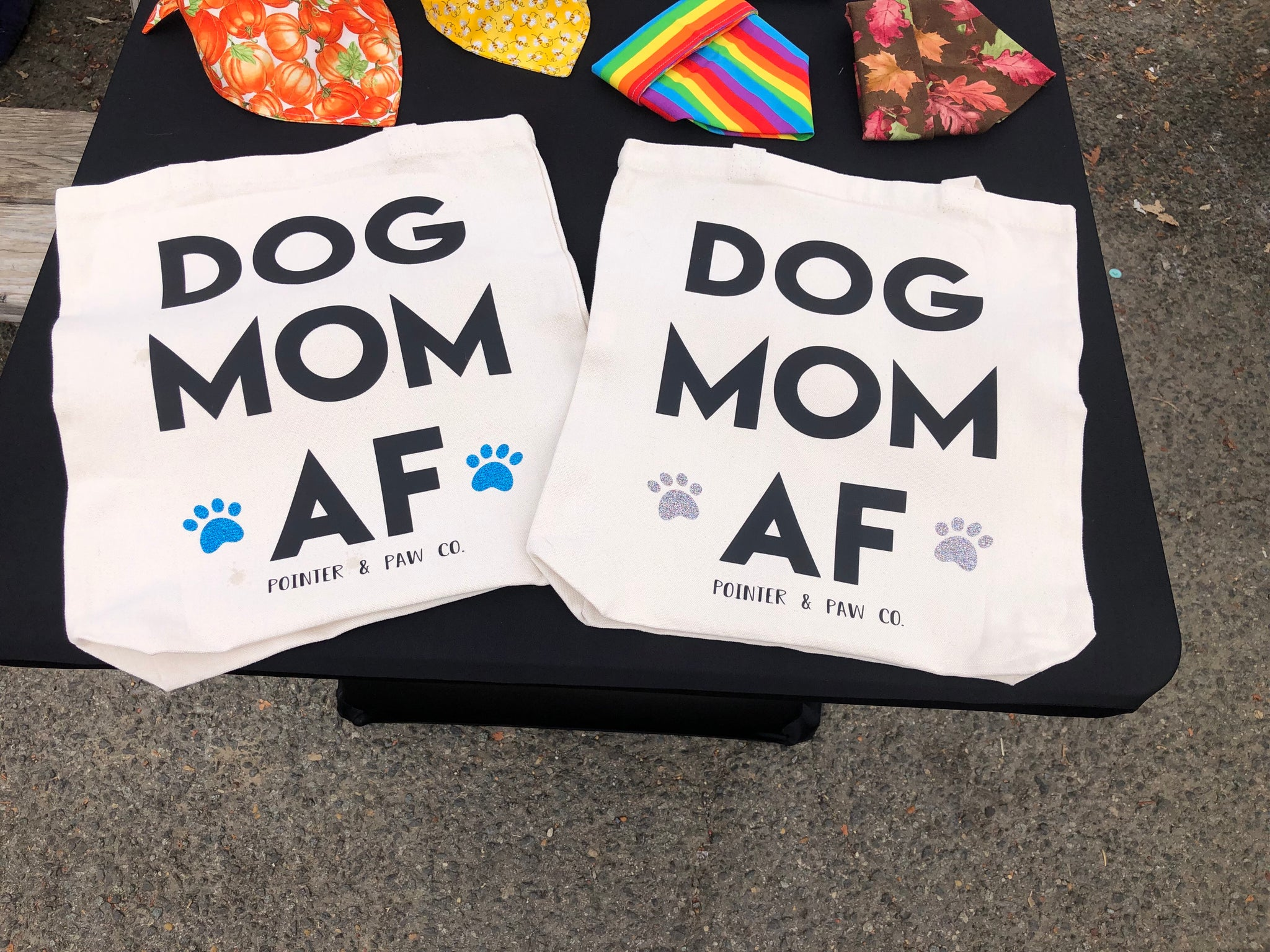 Dog Mom AF Tote Bag